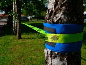 Slackline inkl. Baumschutz