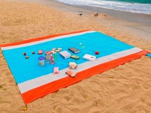 Großes Strandtuch