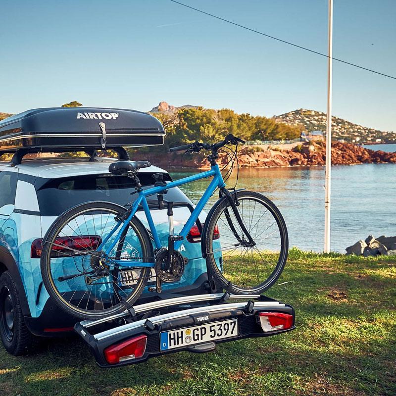 Unterwegs mit Camper und Rad